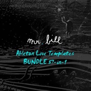 Mr. Bill Ableton Live Templates BUNDLE 57-in-1