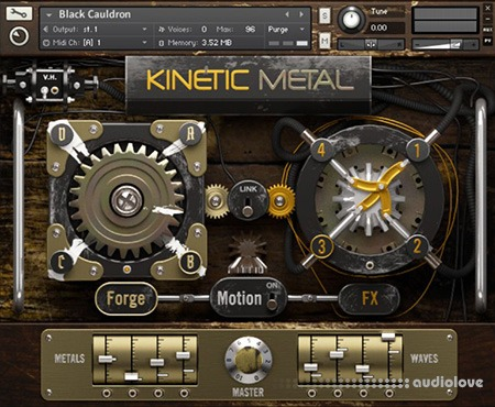 Native Instruments KINETIC METAL v1.1 KONTAKT
