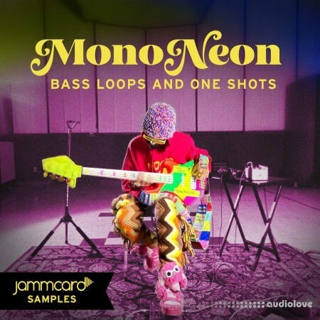 Jammcard Samples MonoNeon Bass Loops and One-Shots