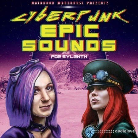 Mainroom Warehouse Cyberpunk Epic Sounds Synth Presets MiDi